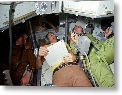 Apollo Soyuz Test Project Crew Training Metal Print by Nasa
