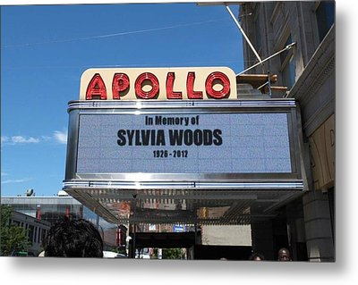 Apollo Theater Metal Print by Gail Starr