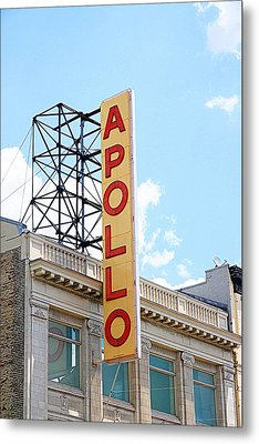 Apollo Theater Sign Metal Print