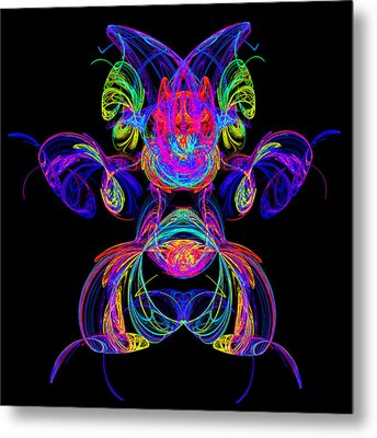 Apophysis Puppy Metal Print by Pat Follett