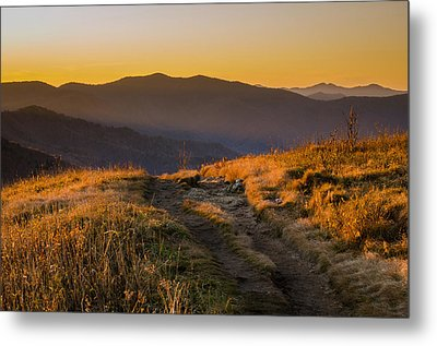 Appalachian Afternoon Metal Print by Serge Skiba