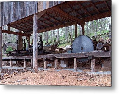 Appalachian Saw Mill Metal Print