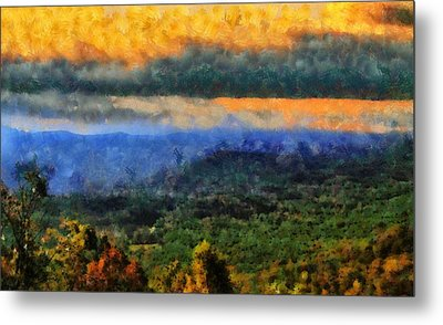 Appalachian Sunrise Metal Print