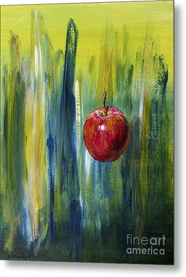 Apple Metal Print