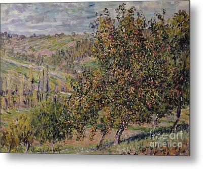 Apple Blossom Metal Print by Claude Monet