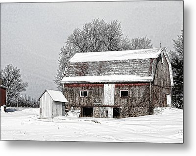 Apple Country Pultneyville Ny Metal Print