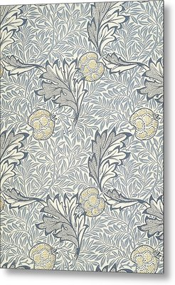 Apple Design 1877 Metal Print by William Morris