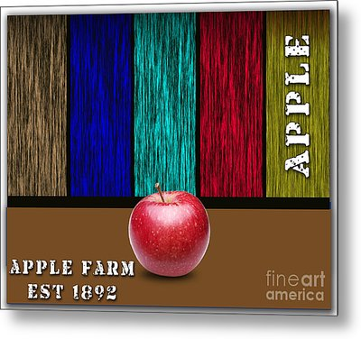 Apple Metal Print by Marvin Blaine
