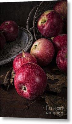 Apple Still Life Metal Print by Edward Fielding