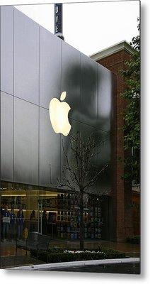 Apple Store Metal Print by Viktor Savchenko