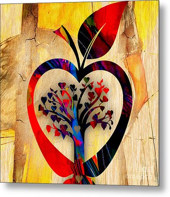 Apple Tree Metal Print by Marvin Blaine