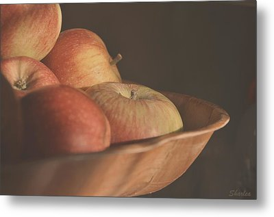 Apples In The Sun Metal Print
