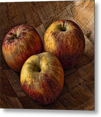 Apples Metal Print by Steve Purnell