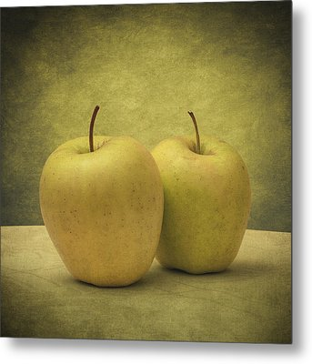 Apples Metal Print by Taylan Apukovska