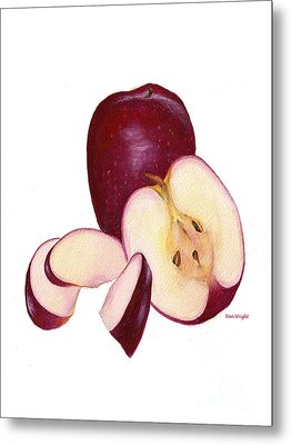 Apples To Apples Metal Print