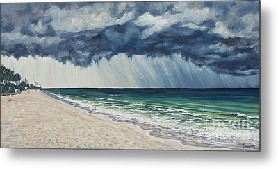 Approaching Gail Metal Print by Danielle  Perry