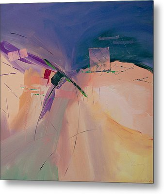 Approaching Storm Metal Print by Paulette B Wright