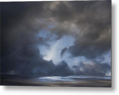 Approaching Storm Metal Print by Ron Jones