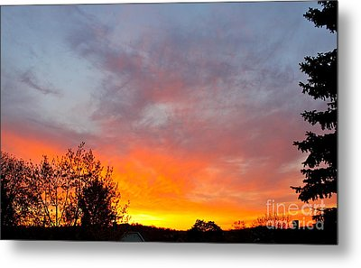 April Sunrise Metal Print by Jay Nodianos