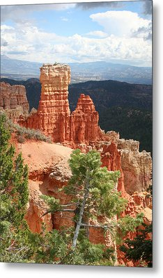 Aqua Canyon IIi Metal Print by Mary Gaines
