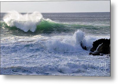 Metal Print featuring the photograph Aqua Mist by Gina Savage