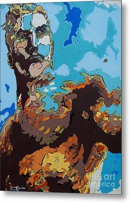 Aquaman - Reflections Metal Print by Kelly Hartman
