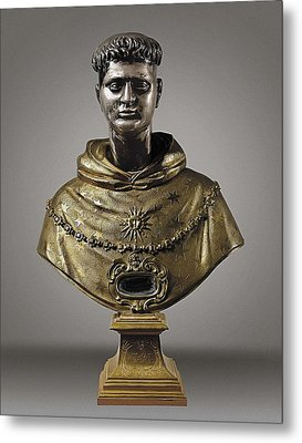 Aquinas, Thomas, Saint 1225-1274 Metal Print