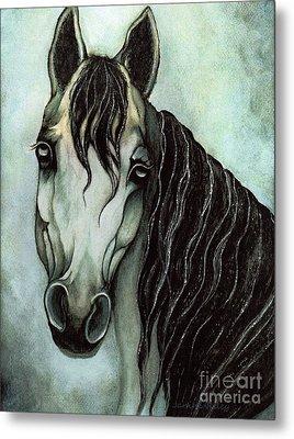 Arabian Horse  Metal Print by Janine Riley
