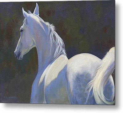 Metal Print featuring the painting Arabian Light by Alecia Underhill