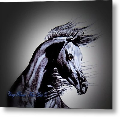 Arabian Motivation Metal Print