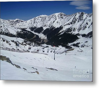 Arapahoe Basin June 2  Metal Print
