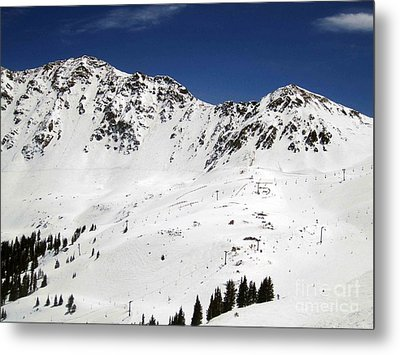 Arapahoe Basin Ski Resort - Colorado          Metal Print