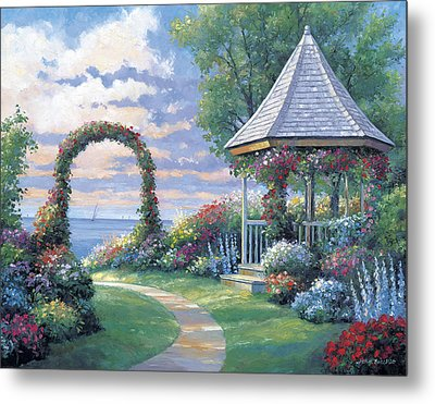 Arbor Light Metal Print