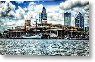 Arc Gloria In Port In Hdr Metal Print by Michael White