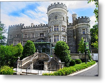 Arcadia College - Grey Towers Castle Metal Print by Bill Cannon