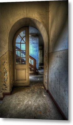 Arch Door Metal Print by Nathan Wright