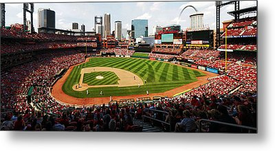 Arch Returns To The Outfield Metal Print