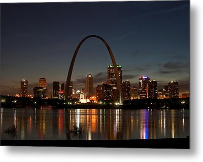 Arch Work Metal Print