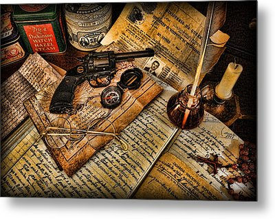 Archaeologist - Jamaican Expedition  Metal Print by Lee Dos Santos