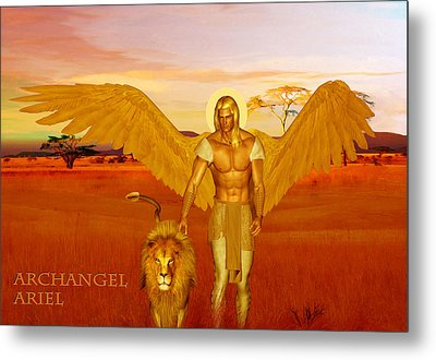 Archangel Ariel Metal Print