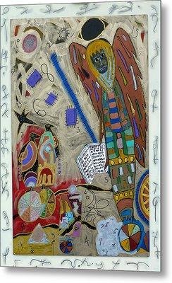 Archangel Jeremiel Metal Print by Clarity Artists