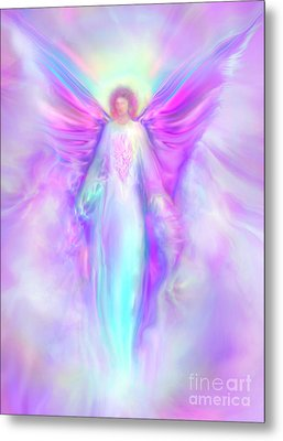 Archangel Raphael Metal Print by Glenyss Bourne