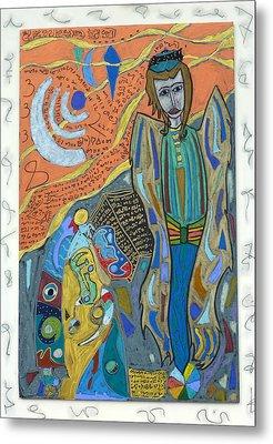 Archangel Uriel Metal Print by Clarity Artists