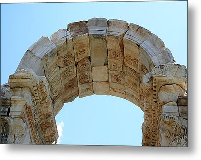 Arched Gate Of The Tetrapylon Metal Print by Tracey Harrington-Simpson