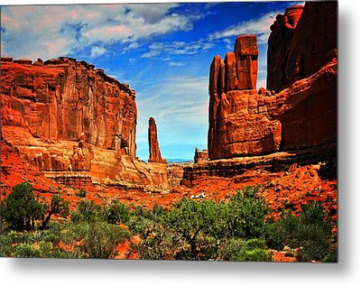 Arches 15 Metal Print by Marty Koch