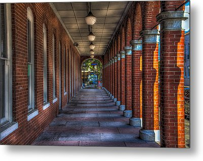 Arches And Columns Metal Print by Marvin Spates