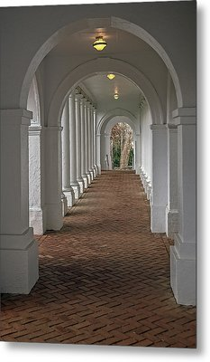 Arches At The Rotunda At University Of Va Metal Print
