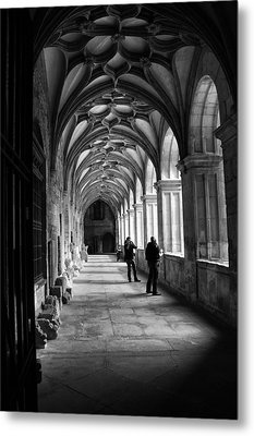 Arches In Leon Spain Metal Print