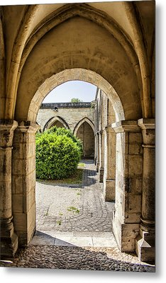 Arches In Perigueux Metal Print