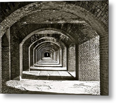 Arches Metal Print by Kim Pippinger
